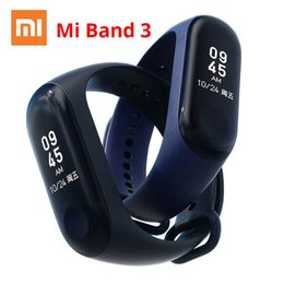 $enCountryForm.capitalKeyWord UK - Xiaomi Mi Band 3 Miband 3 Instant Message Smart Band Watch Caller Id Waterproof Oled Touch Screen Heart Rate Monitor Bracelet J190515