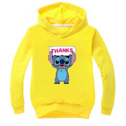 $enCountryForm.capitalKeyWord UK - New Fashion Stitch Kids Boys Girls Pullover Sweatshirt Unisex Casual Hoodies Hooded Sportswear Tops Clothes for Children