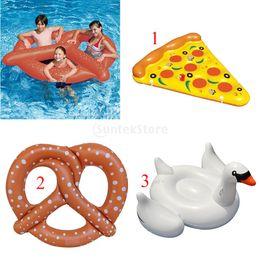 $enCountryForm.capitalKeyWord Australia - Cute Funny Sunbath Bed Swim Toy Kids Adult Inflatable Blowup Beach Pool Party Toy