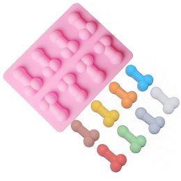 $enCountryForm.capitalKeyWord Australia - Sexy Penis Cake Mold Dick Ice Cube Tray Silicone Mold Soap Candle Moulds Sugar Craft Tools Bakeware Chocolate Moulds wh0718