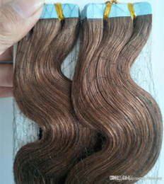$enCountryForm.capitalKeyWord NZ - 40pcs 100G 14 16 18 20 22 24 26 inch PU Tape in Human Hair Extensions Remy Indian hair fast delivery & factory price