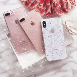 $enCountryForm.capitalKeyWord NZ - Luxury Glitter Sparkle Gold Foil Clear Back Bumper Corner Shockproof Thin Soft Rubber Phone Case Cover For Apple iPhone XS Max XR 8 7 6 Plus