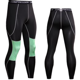 $enCountryForm.capitalKeyWord Canada - Wholesale Compression Pants Rashgard Mens Running Tights Jogging Pants Fitness Joggers Sport Leggings Gym Sport Trousers Cycling Pants