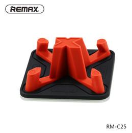 Remax Autotelefonhalter Weiche Silikon Anti Slip Schreibtischhalter für Smart Handy Tablet Halter Ständer Für iPhone xs max xr samsung