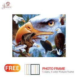 "$enCountryForm.capitalKeyWord Australia - Full Square Round Drill 5D DIY Diamond Painting ""Bird Eagle"" Embroidery Cross Stitch 5D Home Decor Gift"