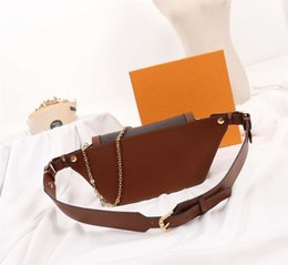 belted clutch bag NZ - Detachable leather strap belt hangbags Remove the strap Clutch Adjustable Crossbody bag Brand waist bag card slots