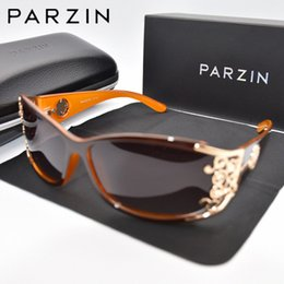 Discount sunglasses parzin - PARZIN Luxury Sunglasses Women Polarized Sun Glasses For Driving Vintage Female Ladies Shades Sunglasses Black With Pack