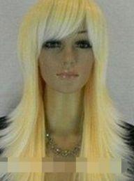$enCountryForm.capitalKeyWord Australia - WIG LL<<< 00928 Lady Long Wavy Curly party made Hair yellow Wig