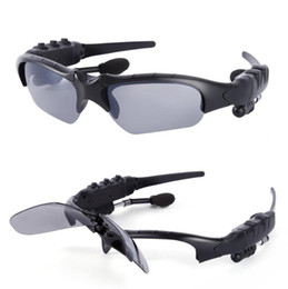 mp3 sun glasses NZ - Smart Glasses Bluetooth V4.1 Sunglass 4 colors Sun Glass Sports Headset MP3 Player Bluetooth Phone Wireless Earphones Bluetooth Eyeglasses