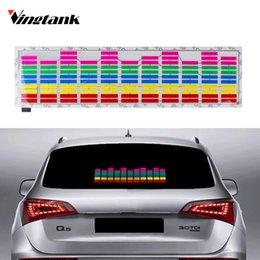 45x11cm Auto Musik Rhythmus Led Licht Lampe Aufkleber Sound Aktiviert Equalizer Other Musical Instrument Equip Equipment