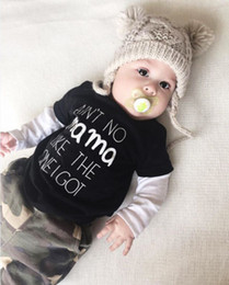 $enCountryForm.capitalKeyWord Australia - Newborn Baby Boys Girl Casual Loose Summer Clothes MAMA Letter Cotton Short Sleeve Blouse Tops Shirts Kids Infant Shirt Outfits