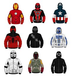 $enCountryForm.capitalKeyWord Australia - Marvel hoodie jacket for boys girls avengers fashion unique cosplay routine outlook very popurlar in school cool for children