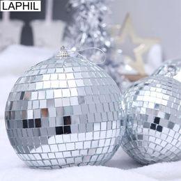 $enCountryForm.capitalKeyWord Australia - LAPHIL 2019 Christmas Decorations 6pcs Mirror Xmas Ball Hanging Ornaments Christmas Tree Pendants New Year Gift Party Supplies