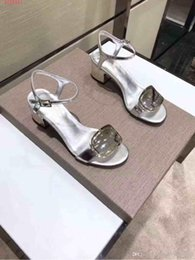 black tie party decorations 2019 - 2019 latest design for rivets Rectangular decoration classic temperament small and exquisite women sandals Elegant style