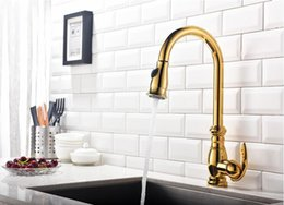 $enCountryForm.capitalKeyWord Australia - Cool and hot water tap of kitchen copper sink can draw and stretch double outlet tap of retractable vegetable basin free shipping