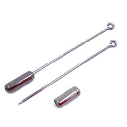 $enCountryForm.capitalKeyWord UK - 50mm 60mm 70mm Sharp End Hijab Pins Platinum Brooch Pins with Tube Backs Wholesale Stick Pin Lapel Pin Clutch JZJZ007