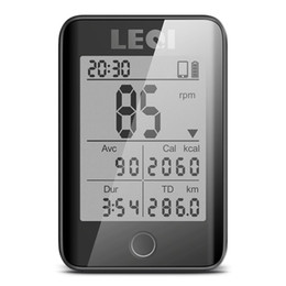 $enCountryForm.capitalKeyWord UK - LEQI Cycling Computer Wireless IPX7 Waterproof Bicycle Digital Stopwatch Cycling Speedometer ANT Large Screen capacete ciclismo #738338