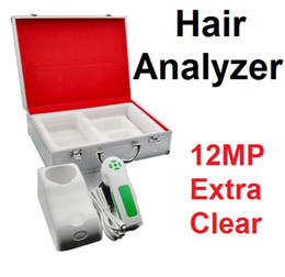 Camera 12 Mp Australia - 2019 Newest 12 MP Mega-Pixel High Resolution Digital CCD USB Multifunction Hair Analyzer Hair Camera Hairscope Hair Diagnosis 9822U DHL Free