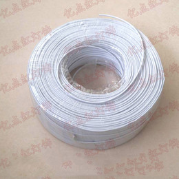 Flat Wire Lighting Australia - Double Cores Flat Wire Cables 0.75 Square Soft Wire 220V Electrician Wire for DIY Lighting