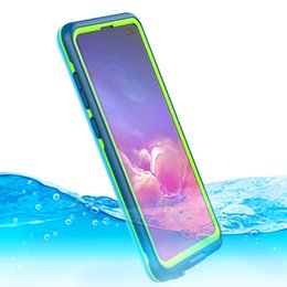 $enCountryForm.capitalKeyWord UK - Full Body Protected Waterproof Phone Case Full Sealed Shockproof Cover With Built-in Screen Protector For Samsung Galaxy S10 S10 Plus