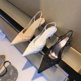 dhl shoes Australia - high quality! Designer luxury high heel women's shoes multicolor pearl single shoes series Italy imported leather bottom DHL free shipping