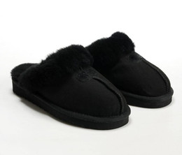 $enCountryForm.capitalKeyWord Australia - HOT SALE 2019 High quality Warm cotton slippers Men And Womens slippers Short Boots Women's Boots Snow Boots Designer Indoor Cotton slippers