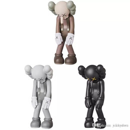 $enCountryForm.capitalKeyWord NZ - Kaws Smlll Lie Original Fake Companion Action Figure Companion Collection Doll Hot Toy New Arrvial Hot Sale PVC Free Shipping Bearbrick
