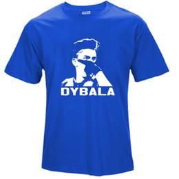 Discount army masks - 2019 mens designer t shirts 2018 Short Sleeve Cotton T Shirts Man Clothing Paulo Dybala mask Custom Tshirt Size T-Shirt
