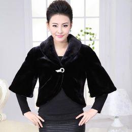 $enCountryForm.capitalKeyWord Australia - Fashion Women faux fur Coats 2019 winter short faux fur poncho gilet coat sexy ladies wear outwear warm Fall jacket coats M563