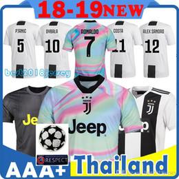 66a02d8dae2 CHEAP 7 RONALDO Juventus home third Kit Men Woman Kids Soccer Jersey AAA  Thai quality 18 19 Top DYBALA juventus EA SPORTS JERSEY MANDZUKIC