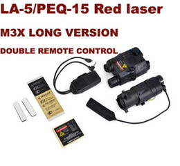 $enCountryForm.capitalKeyWord Australia - Tactical BLOCK I accessory kit include LA-5 PEQ-15 Red laser M3X LONG VERSION White light   IR   Red Laser EX423