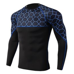 $enCountryForm.capitalKeyWord Australia - Mens Running Sport Long Sleeve Shirts Gym Fitness Jogging Training T Shirt Male Crossfit Workout Mma Skinny Tee Tops Sportswear