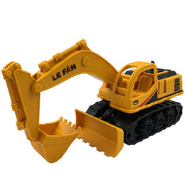 China Inertia Cars Kids Mini Excavator Simulation Engineering Truck Model Toys Friction Car Children Party Gifts cheap friction toys suppliers