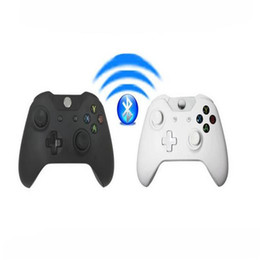 $enCountryForm.capitalKeyWord Australia - Bluetooth Wireless Controller Gamepad Precise Thumb Joystick Gamepad For Xbox One for Microsoft X-BOX Controller With Retail boxes