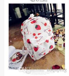 $enCountryForm.capitalKeyWord Australia - Strawberry backpack Fruit school bag Nice girl daypack Straw berry rucksack Outdoor schoolbag Sport day pack Leisure backpack School Bag