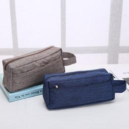 cosmetics deals 2019 - Old Cobbler direct deal Customized logo Cosmetic Bag Outdoor sport Zipper handbag fashion Storage bag wholesale Wash bag