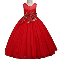 b584286ecac 2-10Y Kids Dresses For Girls Elegant Lace Princess Dress Communion Prom Girl  Gown Kids Girl Party Dress Toddler Clothes Vestidos