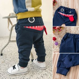 Toddler Pants Tutu Australia - Pudcoco 2019 New Brand Toddler Casual Cotton Joggers Bottoms Pants Big Mouth Monster Trousers