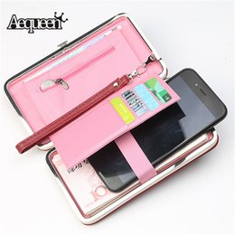 $enCountryForm.capitalKeyWord NZ - Cheap Wallets AEQUEEN Women Wallets Large Capacity PU Leather Long Purse For Girls Mobile Phone Bag Ladies Clutch Coin Wallet Card Holder