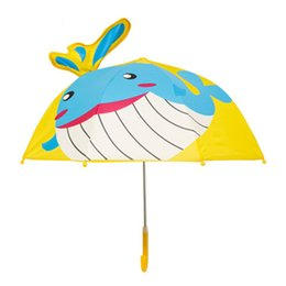Kids Dog Australia - Cute Umbrella Kids Automatic Girls Boys Children Umbrella Big Dog Art Sombrillas Para Lluvia Y Sol Brass Knuckles Free Shipping