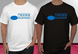 jazz shirts NZ - Blue Note Jazz Music Records New Logo Black White Men's T-shirt S-2XL Funny free shipping Unisex Casual top
