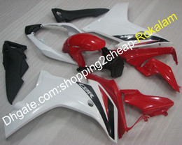 $enCountryForm.capitalKeyWord Australia - White Red Bodywork Fairing For Honda 2011 2012 2013 CBR600F 11 12 13 CBR 600 F 600F Moto Fairing kit (Injection molding)