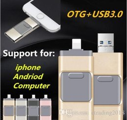 $enCountryForm.capitalKeyWord Australia - 32GB USB Flash Drive U Disk Memory Stick for Apple iPhone 5 5S 6 6s plus iPad OTG Pendrive For Android iOS PC