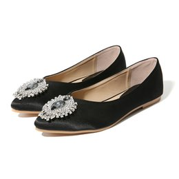 9f70c3289a6f NIS Women Pointed Toe Ballet Flats