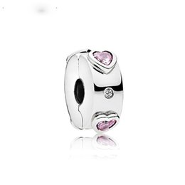 Clip Charms Free Shipping Australia - New Free Shipping Silver Plated Bead Alloy Explosion of Love Clip Charm Fit Original Pandora Bracelet DIY Women Jewelry
