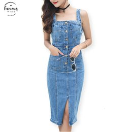 tight stretch dresses Australia - Stretching Sheath Sarafan Female Denim Dress Summer Women Fashion Tight Elasticity And For Sarafans Pencil Womens Dress