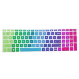 Nueva funda protectora invisible de alta calidad para teclado HP 15,6 pulgadas BF portátil PC portátil de silicona súper suave on Sale