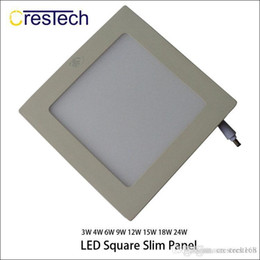 downlight kits NZ - 15w 18w 23w Grid Downlight Led Panel Light Recessed Lighting Fixture Kit Warm White And Cold White