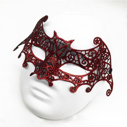 $enCountryForm.capitalKeyWord UK - Sexy Lace Party Masks Women Ladies Girls For Christmas Disco Halloween Xmas Cosplay Costume Masquerade Dancing Valentine Half Face Mask