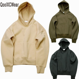 $enCountryForm.capitalKeyWord Australia - Qoolxcwear Very Good Quality Nice Hip Hop Hoodies With Fleece Warm Winter Mens Kanye West Hoodie Sweatshirt Swag Solid Pullover MX190803